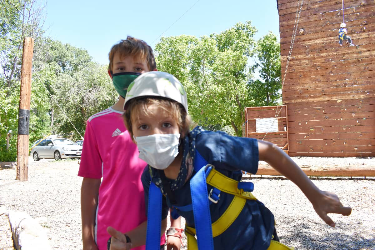 Wilderness adventure program for youth in new Mexico
